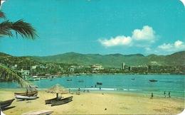 Acapulco (Mexico) Vista Del Malecon Y Parte Central, The Malecon And Center Of Acapulco - Messico