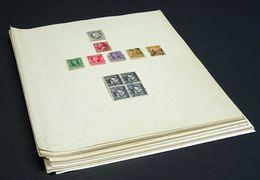 USA Early To Modern Incl. Blocks, 1908 American Red Cross Cinderella F/U, Etc. - Etats-Unis