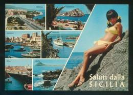 Sicilia. *Saluti Dalla Sicilia* Nueva. - Italia