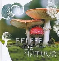 Themaboek PostNL – Beleef De Natuur - Paddenstoelen - Jaar Van Uitgifte 2018 - Exclusief Zegels - Andere