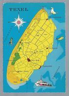 NL.- TEXEL. - Landkaarten