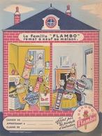 "Protège Cahier - FLAMBO - ""Lafamille FLAMBO Remet à Neuf Sa Maison - Protège-cahiers"