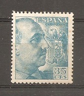España/Spain-(MH/*) - Edifil 1050 - Yvert 817 - 1931-50 Neufs