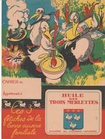 """Protège Cahier - HUILE DES 3 MERLETTES - """"Huilerie Du Laonnois Voharies"""" - Book Covers"""