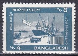 Bangladesch Bangladesh 1992 Transport Haften Harbour Port Schiffe Ships Kai Wharf, Mi. 414 ** - Bangladesch