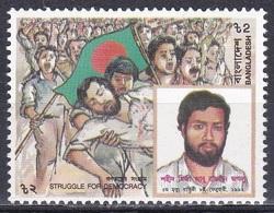 Bangladesch Bangladesh 1992 Geschichte Democracy Democraty Märtyrer Martyrs Jaglu, Mi. 414 ** - Bangladesch