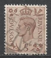Great Britain 1938. Scott #242 (U) King George VI * - 1902-1951 (Rois)