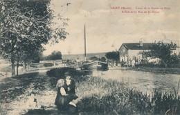 CPA - France - (55) Meuse - Ligny - Canal De La Marne-au-Rhin - Ligny En Barrois