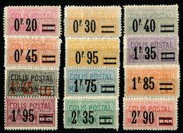 France 1926 - Colis Postaux N° 34 à 45 Neufs */(*) - Sans Aminci - TBE - Mint/Hinged