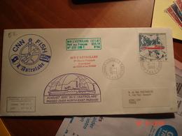 TERRES AUSTRALES ET ANTARTIQUES FRANCAISES   LETTRE DU 21 01 1993 POSTEE DE LA BASE DUMONT D'URVILLE - Timbres