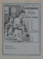"""Protège Cahier - QUINTONINE - """"Donne Bonne Mine  """" - Protège-cahiers"""