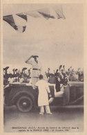 2 CPSM BRAZZAVILLE - Arrivée Du Général DE GAULLE Dans La Capitale De La Zone Libre Le 24/10/1940 - Characters