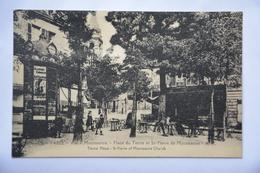 PARIS(vieux MONTMARTRE)- Place Du Tertre Et St. Pierre De Montmartre - Arrondissement: 18