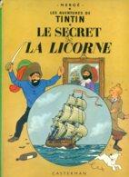 Tintin - Le Secret De La Licorne - B42 (1975) - Hergé