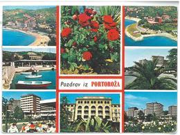 Jugoslavia Pozdraviz Portoroža Viaggiata 1978 - Jugoslavia