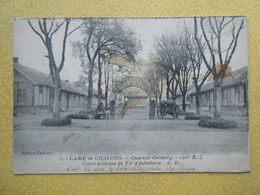 MOURMELON LE GRAND. Le Camp De Chalons. Le Quartier Geisberg Du 106e RI. Le Cours Pratique De Tir D'Infanterie. - Camp De Châlons - Mourmelon
