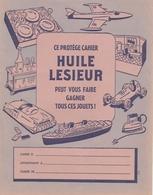 """Protège Cahier - HUILE LESIEUR - """"peut Vous Faire Gagner Tous Ces Jouets"""" - Protège-cahiers"""