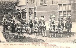 Cavalcade D'Hanswijck 1913 - Het Gevolg Van Den Aartshertog (animatie) - Malines