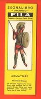 Fila Segnalibro Guerriero Etrusco Armature Militari  Anni 60 Military Armor - Marcapáginas