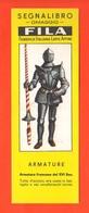 Fila Segnalibro Armatura Francese Cavaliere Armature Militari  Anni 60 Military Armor - Marcapáginas