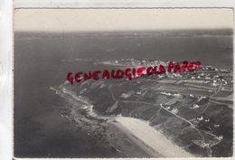 29-  LOCQUIREC - PLAGE DES SABLES BLANCS ET POINTES DU CORBEAU ET DU CHATEAU  FINISTERE  1961 - Locquirec
