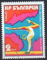 Gymnastique (Poutre) - Bulgarie - 1974 - Gebraucht