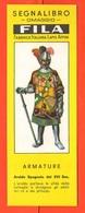 Fila Segnalibro Araldo Spagnolo Cavalieri Armature Militari  Anni 60 Military Armor - Marque-Pages