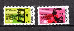 Portogallo - 1976. Bell E Apparecchio Telefonico. Bell And Telephone Apparatus. Complete MNH Set - Telecom