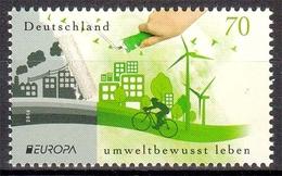 Bund MiNr. 3238 ** Europa: Umweltbewusst Leben - BRD