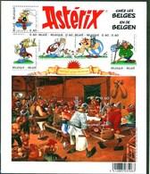 Blok 123 Asterix En De Belgen - Bloc Ou Sheet De Asterix Chez Les Belges 3433/38** MNH - Blocs 1962-....