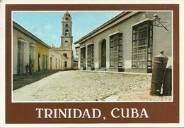 """Trinidad (Cuba) Calles Empedradas, Cobblestone Streets Thematic Stamp """"1989 Dia De Las Madres"""" - Cuba"""