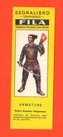 Segnalibro Fila Samurai Giapponese  XVIII Secolo Armature Militari  Anni 60 Military Armor - Marcapáginas