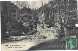 23 - La Celle-Dunoise- Cascade Du Gour Enfariné - France