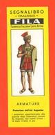 Segnalibro Fila Pretoriano Romano Armature Militari  Anni 60 Military Armor - Marcapáginas