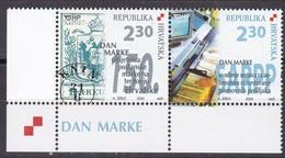 Kroatien, 2000, 556/57, Tag Der Briefmarke. MNH ** - Croatia