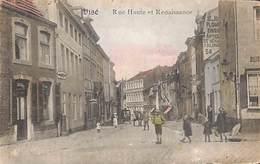 Visé - Rue Haute Et Renaissance (animée, Colorisée, Coiffeur, Attelage) - Visé