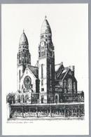 NL.- ROTTERDAM. Koninginnekerk 1904 - 1972. Pentekening. - Schone Kunsten