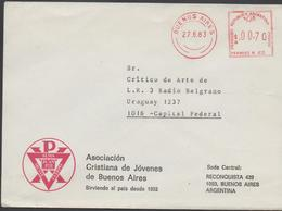 3358  Carta Buenos Aires 1983, Argentina - Argentinien