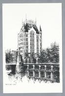 NL.- ROTTERDAM. Witte Huis 1901. Pentekening. - Schone Kunsten