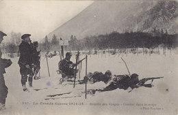 La Grande Guerre 1914/1915 Bataille Des Vosges Combat Dans La Neige - Guerre 1914-18
