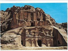 Giordania Petra Obilisks Tomb Viaggiata 1993 - Giordania