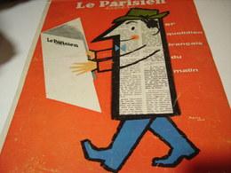 ANCIENNE PUBLICITE JOURNAL LE PARISIEN LIBERE 1960 - Tabac (objets Liés)