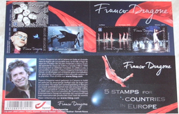 Boekje / Carnet 127 Franco Dragone Cirque Du Soleil - 4219/23**Aperçu D'un Oeuvre Sans Frontière MNH - Carnets 1953-....