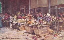 OILETTE  LES HALLES Série 953 N°40  ........... Pavillon Des Fleurs ........ Un Mot à La Poste - Tuck, Raphael