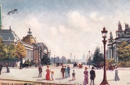 OILETTE  PARIS IIII Série 933P  N°29  ........... Le Grand Et Le Petit Palais ........ Un Mot à La Poste - Tuck, Raphael