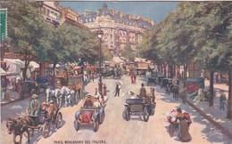OILETTE  PARIS IX Série 950P  N°56  ........... Boulevard Des Italiens ........ Un Mot à La Poste - Tuck, Raphael