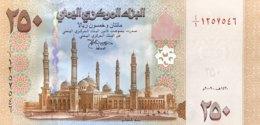 Yemen 250 Rials, P-35 (2009) - UNC - Yémen