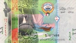 Kuwait 1/2 Dinar, P-30 (2014) - UNC - Kuwait