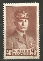 (F1-361) France - N°470 * - Pétain - France