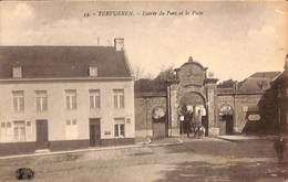 Tervueren - Entrée Du Parc Et La Poste (animée Attelage, Henri Georges) - Tervuren